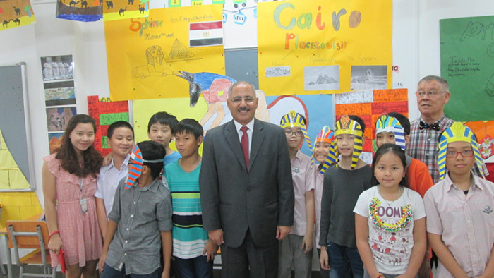 International Day with Egypt Ambassador