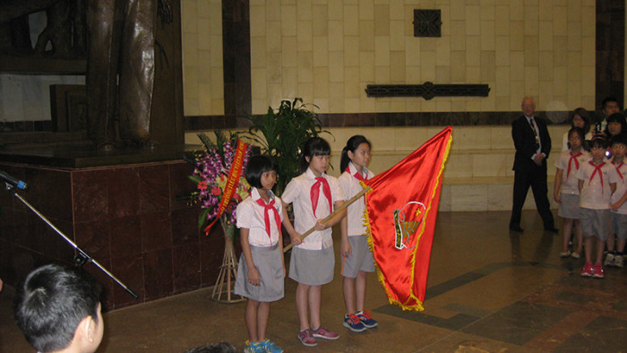 Young Pioneer Admission Ceremony
