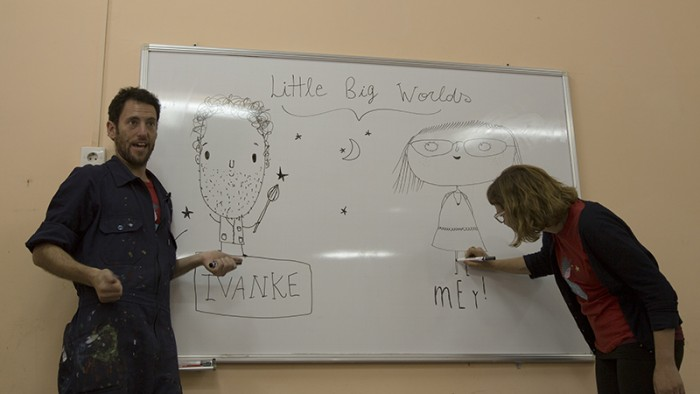 Artist Ivanke's Class