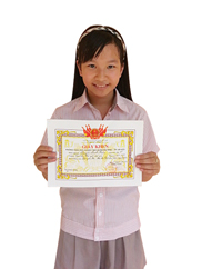 Nguyen Minh Hien_class 5D_3rd Place in Writing Test in 2012 and 2013