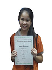 Nguyen Khanh An_class 5B_5 Years in a row Academic Champion_2009, 2010, 2011, 2012, 2013 and Spelling Bee Champion 2012